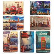 7 X British Souvenirs Metallic Shiny Fridge Magnet I Love London UJ Photo Magnet