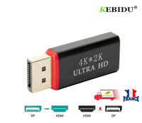 4K Display Port DP mâle vers HDMI Femme Adaptateur  Convertisseur DisplayPort