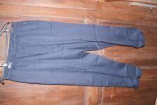 Pantalon DAMART bleu avec cordon de serrage   Taille 46 neuf