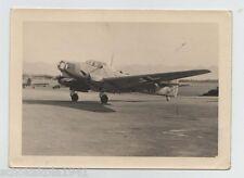 Foto originale di un aereo probabilmente di Albert Kesselring