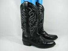 Dan Post Western Cowboy Boot Men size 8 D Black