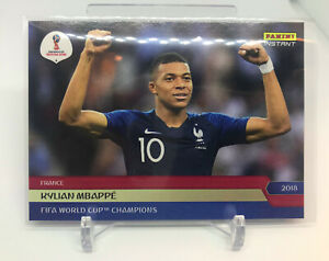 Kylian Mbappe 2018 Panini Instant World Cup SP /495 Rookie RC #292 + France Set