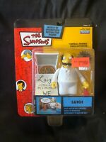 Series 14 The Simpsons WOS Interactive LUIGI Playmates NEW IN BOX