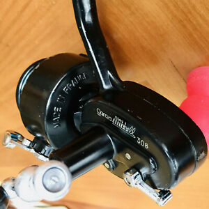 Garcia Mitchell 308 Ultra Light Vintage Spinning Reel;  Nice Shape!