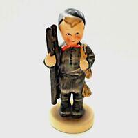 "Goebel HUMMEL ""CHIMNEY SWEEP"" #12-2/0 Boy w/ Ladder Porcelain Figurine TMK 2"