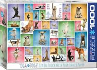 Yoga Dogs 1000 piece jigsaw puzzle 680mm x 490mm (pz)