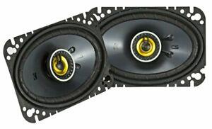 "Kicker CS Series 4x6"" 2-Way Car Speakers CSC46 - Pair (Ships as 46CSC464)"