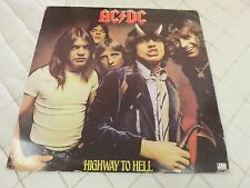 AC/DC Highway to Hell Canada Press LP Record Music