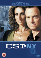Csi New York Temporada 1 DVD Nuevo DVD (MP1046D)