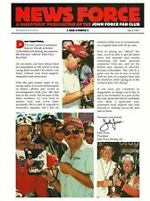 "1997 John Force ""News Force"" #1 NHRA fanzine"