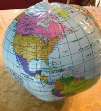 NEW Inflatable Globe PVC World Globe Earth Beach Ball Water Toy Balls Fodor's
