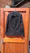 Armani Exchange Black Long Sleeve Shirt size small
