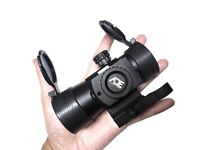 Ade Advanced Optics Compact Reflex Red Dot Sight with Laser + Built in QD Mount