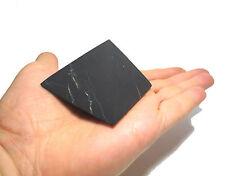 Shungite Schungit Unpolished Pyramid 60mm elite crystal minerals