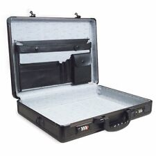 ROADPRO SPC-941G  17 5 BLACK ALUMINUM BRIEFCASE