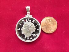 2006 Norfed silver pendant, new