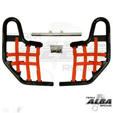 TRX 250EX TRX250EX Honda   Nerf Bars  Alba Racing   Black bar Red nets 220 T1 BR