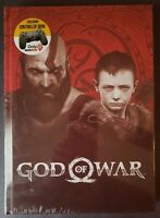 GOD OF WAR COLLECTOR'S EDITION STRATEGY GUIDE ~ SEALED W/ PS4 CONTROLLER SKIN