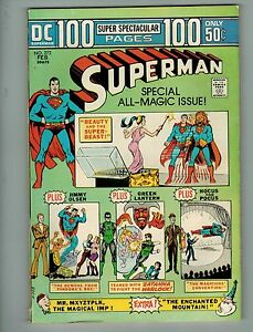 Superman #272 (Feb 1974, DC)! VG4.5+! Bronze age DC 100 page giant beauty!