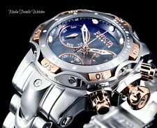 Invicta Reserve Womens 44mm Venom Rose & Silver Swiss Chronograph Bracelet Watch