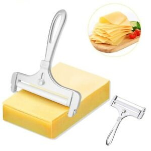 Stainless Steel Cheese Slicer Adjustable Thickness Cheese Cutter Kitchen Tool