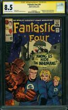 Fantastic Four #45 CGC 8.5 1965 1st Inhumans! Stan Lee Signature! G9 147 cm bo
