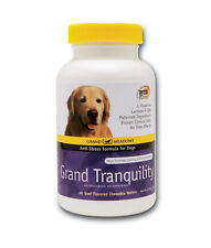 Grand TRANQUILITY Dog Calming Formula Non-Drowsy Beef Chewable Tablets Treats