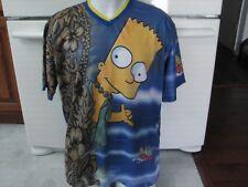 Bart Simpson shirt vintage 2000 Surfing Hawaii men's XL The Simpsons