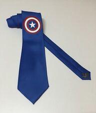 Captain America,  Really Cool Necktie, Blue Tie, New