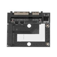 mSATA Mini PCI-E SSD to 2.5inch SATA 6.0Gbps Converter Adapter Card #gib