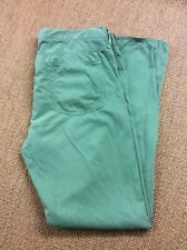 Mens TOMMY HILFIGER W40 L34 Green Hudson Jeans Great Condition