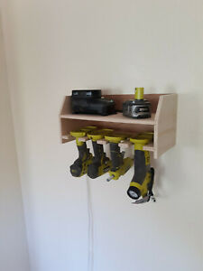New Drill Storage Charging Station Holds most cordless tools