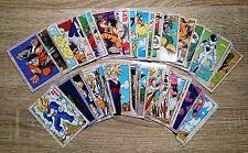 Cartes Dragon Ball KAKUWAZA Part 1 Full Set 36 cartes cards Dragon Ball Z DBZ