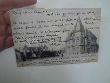 Old Postcard Cognac Chateau et Comptoir de MM Pellisson Pere & Co Early 1900's