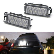 Oe-Fit 3W Led License Plate Light Kit For Fiat 500, Maserati Levante, Jeep Grand (Fits: Fiat)