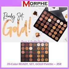 ❤️⭐ NEW Morphe Brushes 35R READY SET GOLD 😍🔥👍 35-Color Eye Shadow Palette ❤️⭐