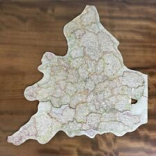 Vintage Jigsaw Of England And Wales