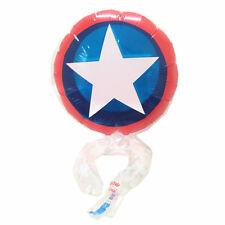 5pc Captain America Shield Wrist Balloons The Avengers Superhero Birthday Party