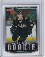 MATT NISKANEN ROOKIE Card RC 2007 2008 UPPER DECK VICTORY NHL #325 DALLAS STARS