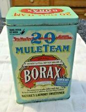 Decorative 20 Mule Team Borax Tin