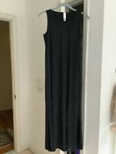 Marla Wynne Womens Black Mesh Overlay Maxi Sleeveless Dress Sz PXS NWT!