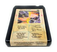 The Moody Blues Days of Future Passed 8 Track Tape Stereo Vintage AMPEX 77812