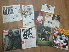 More details for blur press newspaper magazine clippings cuttings brit pop damon albarn coxon