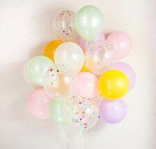 Confetti Balloon - Pastel set of 14, Ice cream, Wedding, Birthday Party