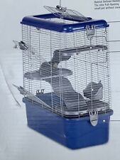 Super Pet Multi-Level Rat Habitat Medium Blue
