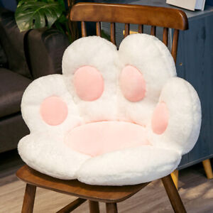 Animal Paw Plush Cushion Child Chair Seat Cushion Sofa Back Soft Pillow Mat Home