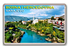 BOSNA I HERCEGOVINA SARAJEVO FRIDGE MAGNET SOUVENIR NEW IMÁN NEVERA