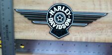 Harley-Davidson Green Fat Boy Outside Window Decal.Vintage Biker Sticker. 3 X 8