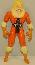 "1992 Sabretooth Victor Creed 5"" Toy Biz Action Figure X-Men Marvel Comics"