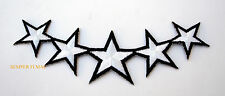FIVE STAR GENERAL HAT PATCH AMERICA PIN UP US ARMY MARINE NAVY AIR FORCE PATRIOT
